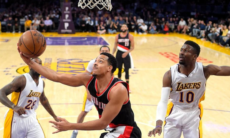 Los Angeles Lakers: 81 - Portland Trail Blazers: 97