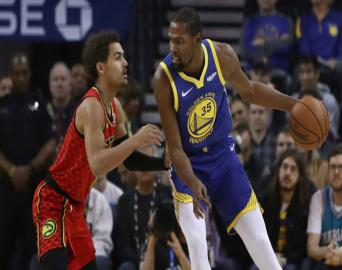 Golden State Warriors: 110 Atlanta Hawks:103